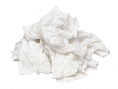 White Linen Non-fluff Compressed Bales - printers wipes, lint free, very absorbent - also ideal for aircraft maintenance - buy from KKC, Janitorial Supplies & Health & Safety Products, Co. Kildare, Ireland